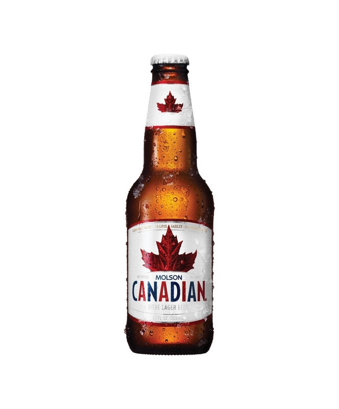 Molson Canadian 12oz 6 Pack Bottles
