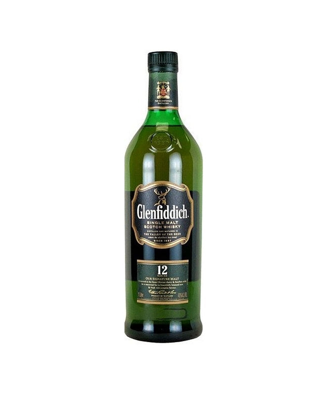 Glenfiddich 12 Year Scotch Whisky 750mL