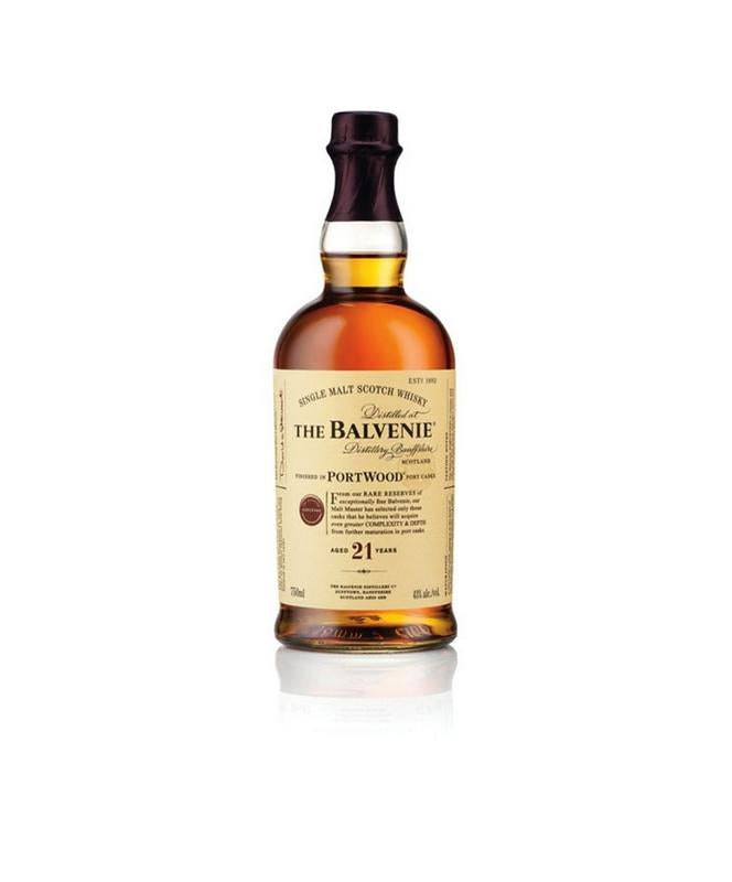 Balvenie Portwood 21 Year Scotch Whisky 750mL