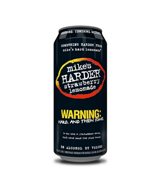 Mike's Harder Strawberry Lemonade 16oz 4 Pack Cans