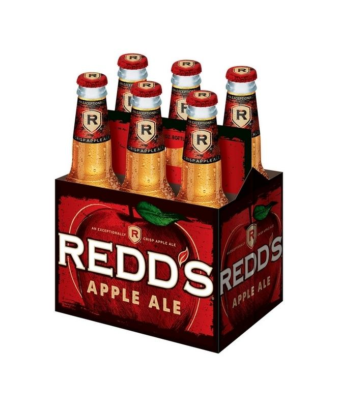 Redd's Wicked Apple Ale 12oz 6 Pack Bottles