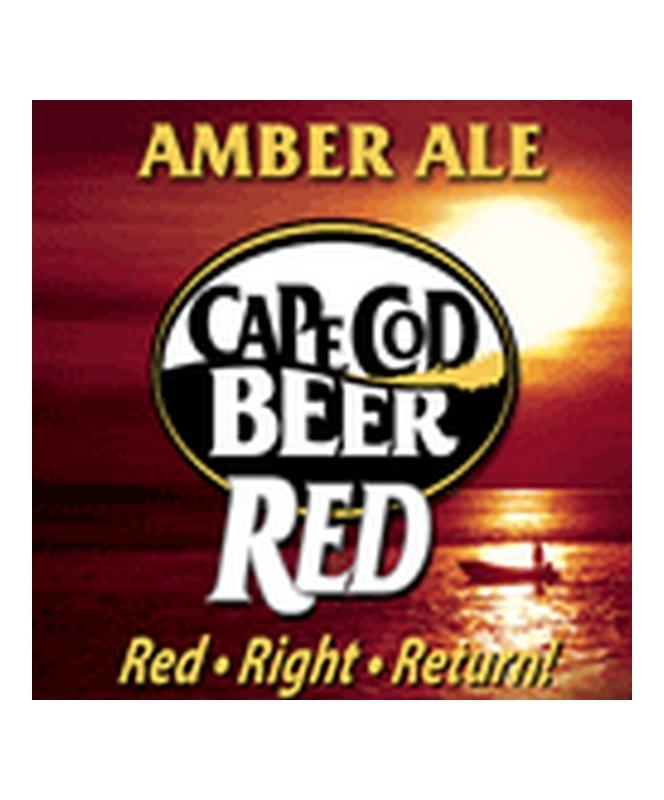 Cape Cod Beer Amber Red Ale 16oz 4 Pack Cans