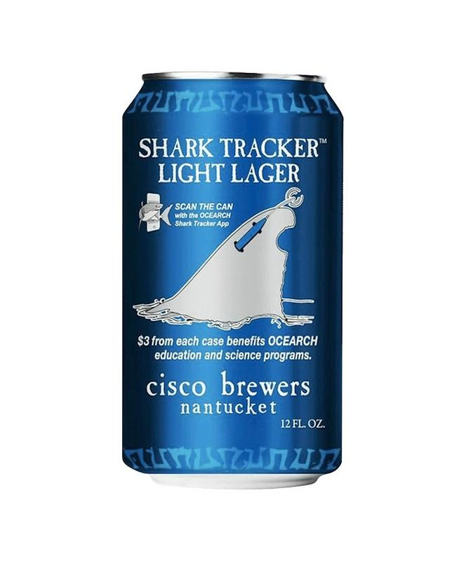Cisco Shark Tracker 12oz 12 Pack Cans