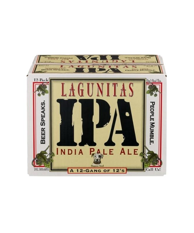 Lagunitas IPA 12oz 12 Pack Bottles