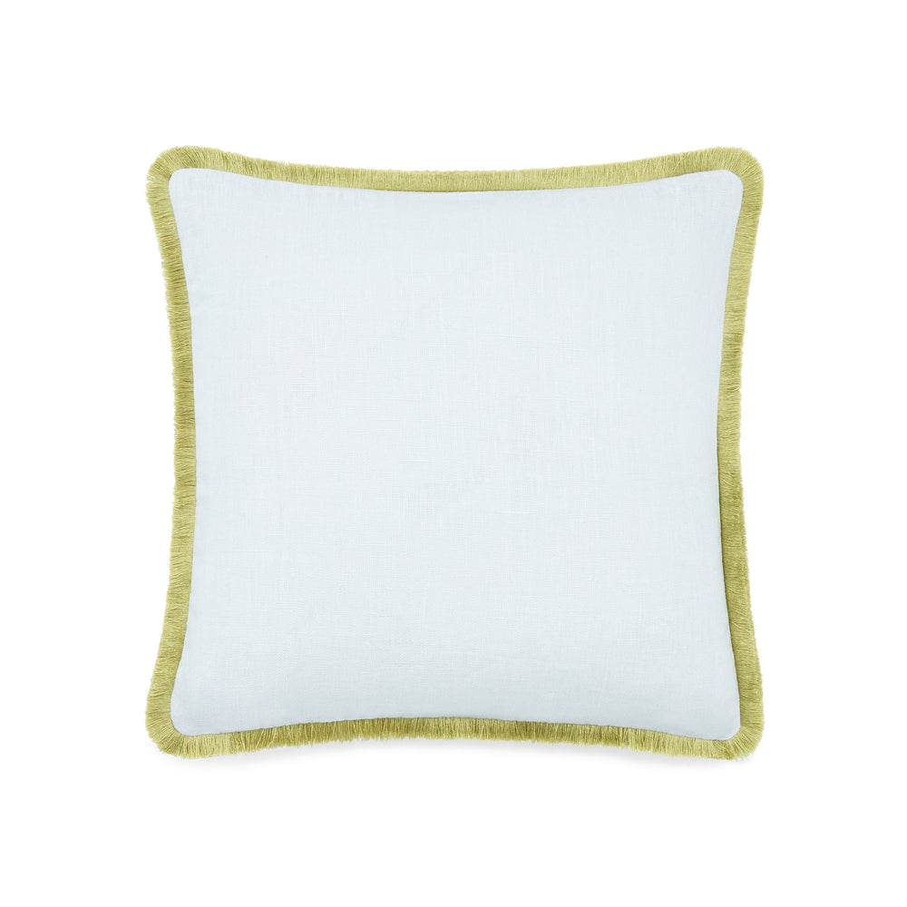 Host Home Fringe cushion in Dove