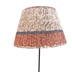 Host Home Gathered Silk Lampshade