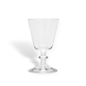 Classic French white wine glass