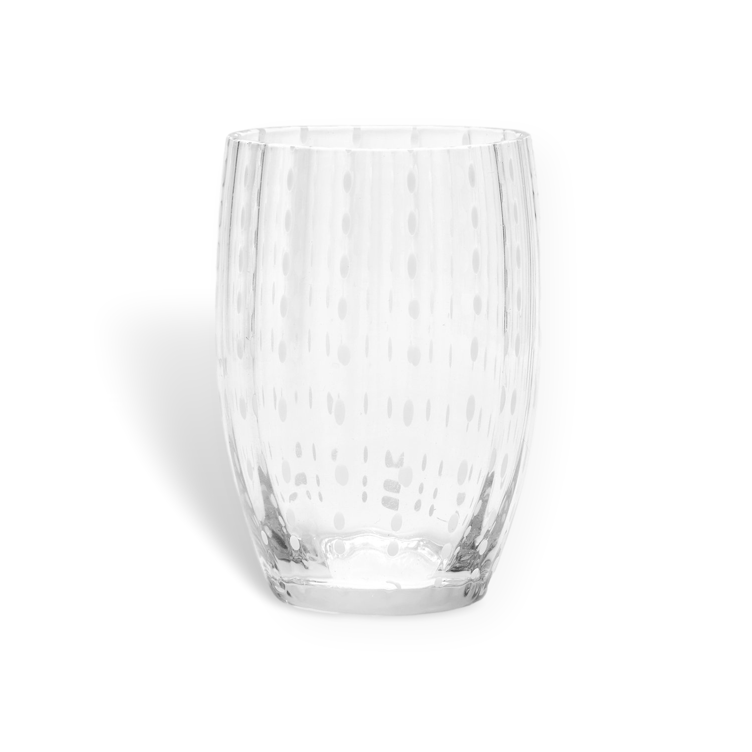 PERLE 'CLEAR' GLASS TUMBLER
