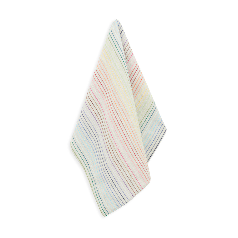 RAINBOW LINEN HAND TOWEL (pack of 2)