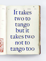 The Windows Book, Day 89: It Take Two To Tango But It Takes Two Not To Tango Too