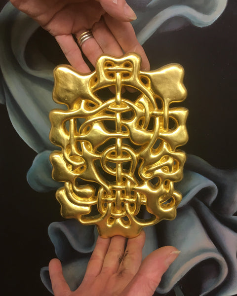 God of Malvar (24k Leaf Gold)