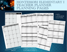Without proper planning a classroom cannot run properly.  These beautiful and functional planning pages support the Lower Elementary Teacher in having a great plan for each week.