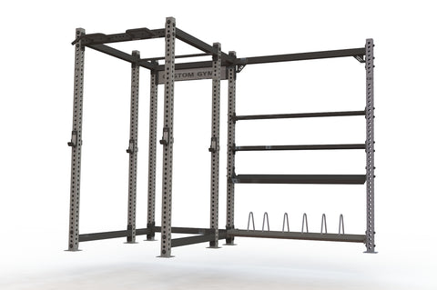 Raider Full Rack with Storage
