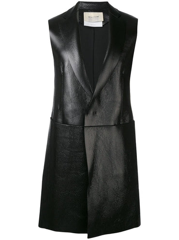 ALIX sleeveless midi coat