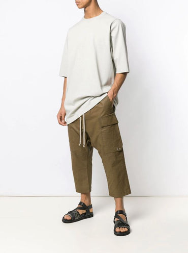 RICK OWENS cropped cargo trousers