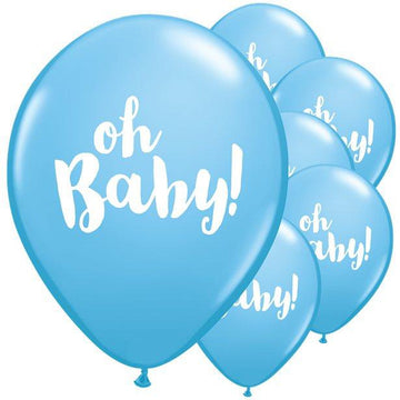 Blue Oh Baby Balloons - 11