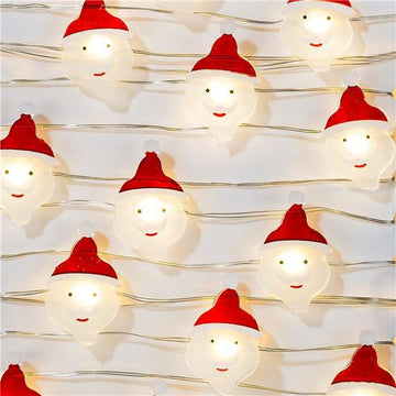 Botanical Santa LED Wire Lights - 3m (each)
