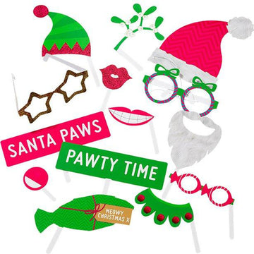 Christmas Entertainment Pet Photo Booth Props (22 pk)