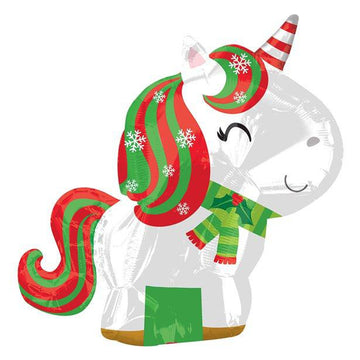 Christmas Unicorn Balloon - 18