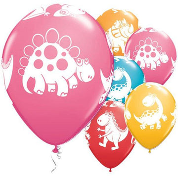 Cute & Cuddly Dinosaurs Assorted Balloons - 11
