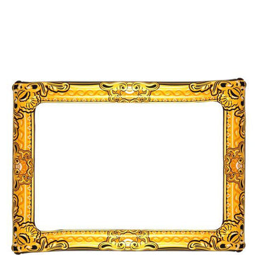 Gold Inflatable Picture Frame