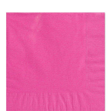 Hot Pink Luncheon Napkins - 33cm (50 pk)