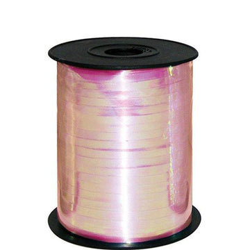 Iridescent Pink Curling Balloon Ribbon
