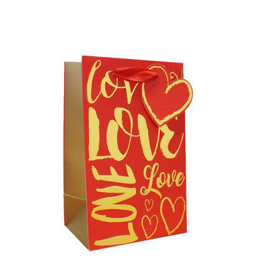 Love Text Perfume Gift Bag (each)