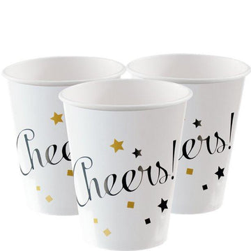 New Year Cups - 250ml (8 pk)