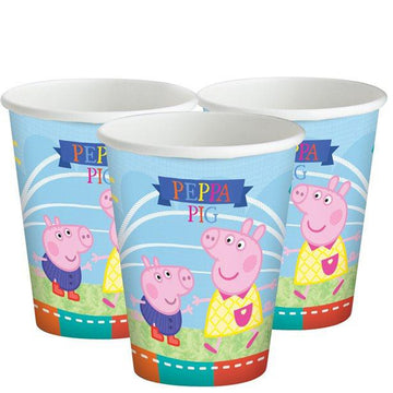 Peppa Pig Paper Cups - 260ml (8 pk)