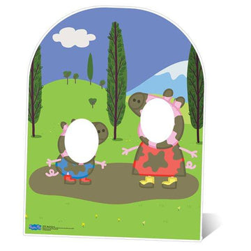 Peppa Pig Stand In Photo Prop - 1.24m (each)