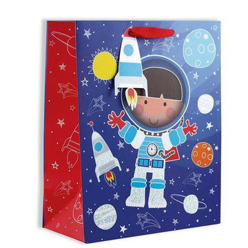 Spaceman Gift Bag - Large (each)