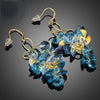 Stellux Austrian Crystal Drop Earrings
