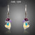 Attractive Cluster  Stellux Austrian Crystal Drop Earrings
