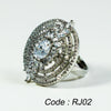 AAA Cubic Zirconia Stone Adjustable Women Ring