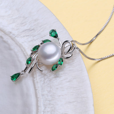 Pearl Jewelry Sets,Pearl Pendant Necklace Earrings For Women