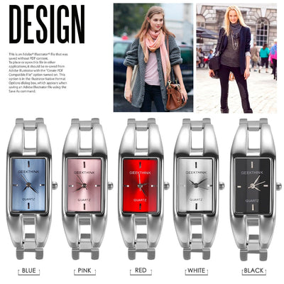 Luxury Brand Quartz Watch for Women