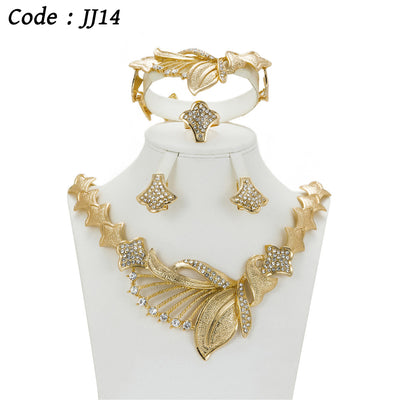 Crystal Jewelry Wedding Accessories For Women