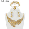 Gold Crystal Bridal Accessories