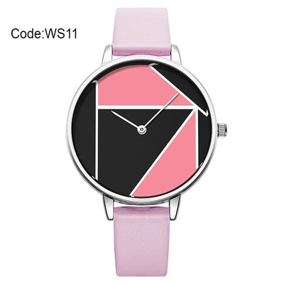 Shengke Creative Dial Leather Watches Female Quartz Watch Relogio Feminino 2019 SK Women Ladies Fashion Wrist Watch #K0072