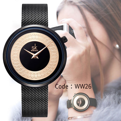 Women Classical Bayan Style Wristwatch Women's Luxury Brand Quartz Kol Saati