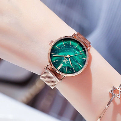 Reloj Mujer Sk Top Brand Women Watch Quartz Full Stainless Steel Luxury Gold Wristwatch Bracelet Elegant Gift Wife Ladies Saat