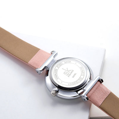High quality 3 atm waterproof SK Watch  japan movement  relojes female