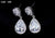 Tear Drop Sparking Zircon Earrings For Women