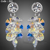 Austrian Crystal Water Drop Earrings