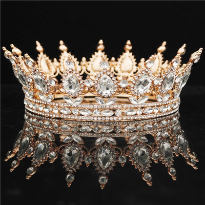 Crown Diadem Women Headdress Queen Crowns Tiaras