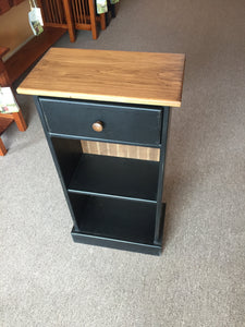 Two (2) Shelf Hutch With Drawer