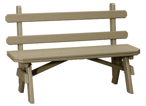 Garden Benches with Backs