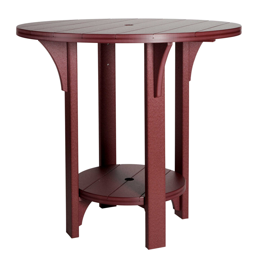 Round Bar Height Table