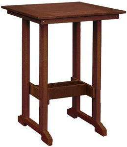 Square Bar Height Table